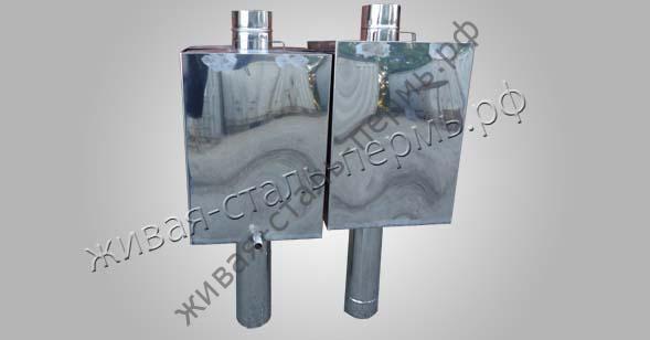 Баки из нержавеющей стали, дымоходные трубы